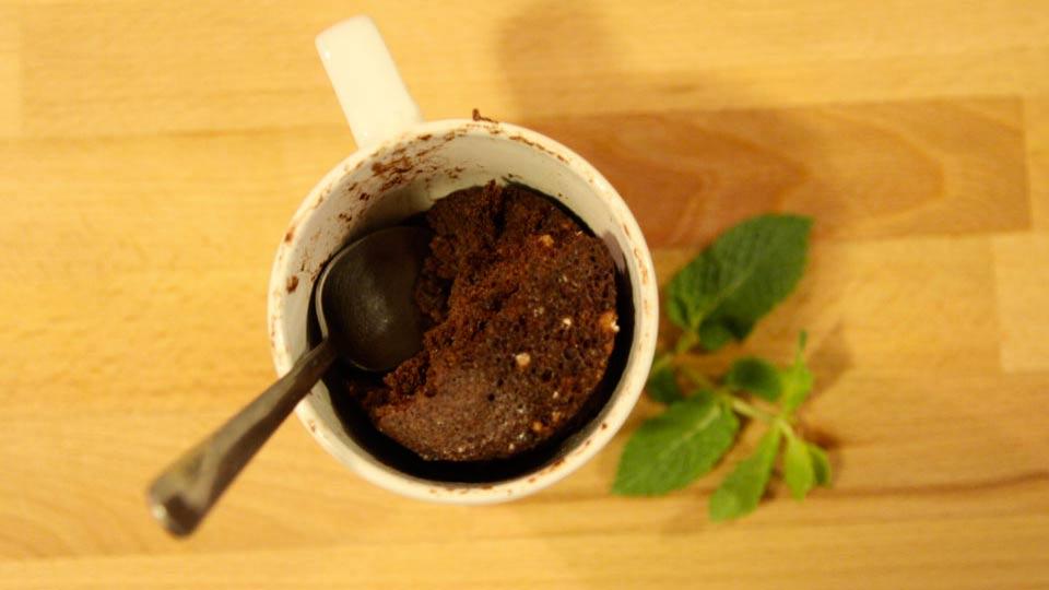 Mug Cake Chocolat au Micro-Ondes